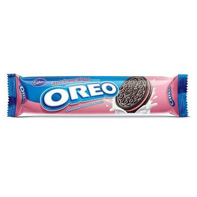 Печенье с клубничной начинкой OREO Strawberry 154 гр, фото 1