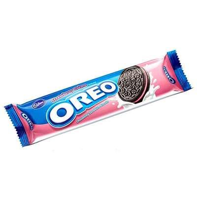 Печенье с клубничным кремом Oreo Strawberry Cream 29,4 гр, фото 1