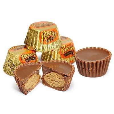 Конфеты с арахисовым маслом Reese's Peanut Butter Cup Miniatures 150 гр, фото 2