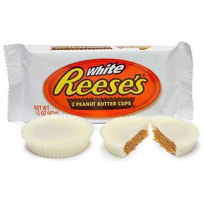 Тарталетки белый шоколад с арахисовым маслом Reese's White Peanut Butter Cup 39 гр, фото 2