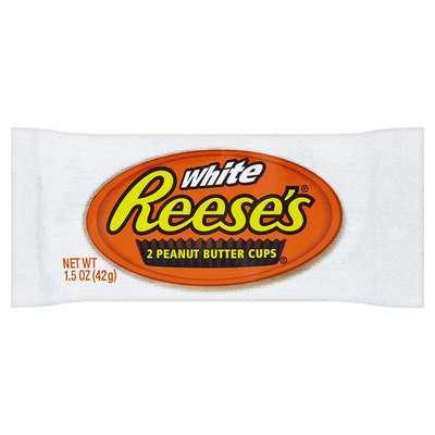 Тарталетки белый шоколад с арахисовым маслом Reese's White Peanut Butter Cup 39 гр, фото 1