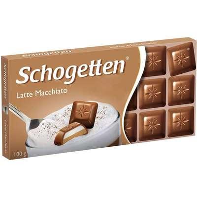 Молочный шоколад с начинкой Латте Макиато Schogetten 100 гр, фото 1
