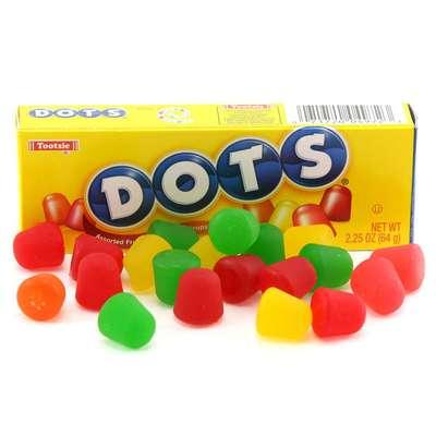 Жевательные Конфеты Dots 64 гр, фото 1