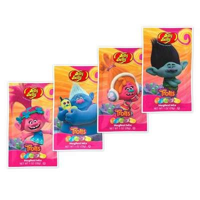 Жевательные конфеты Jelly Belly Trolls 28 гр, фото 4