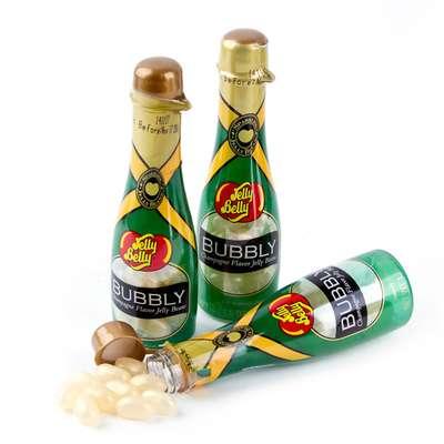 Конфеты со вкусом шампанского бутылочка Jelly Belly Bubbly Champagne 42 гр, фото 2