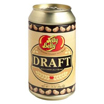 Банка с конфетами вкуса разливного пива Jelly Belly Draft Beer 49 гр, фото 1