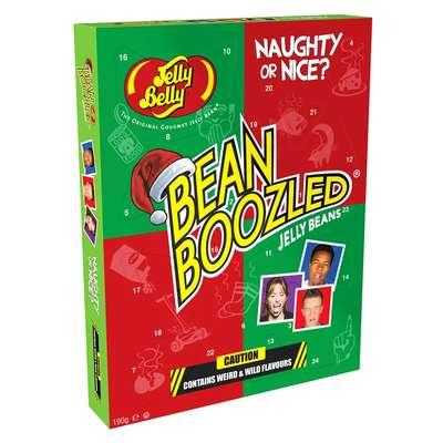 Рождественский календарь ассорти Bean Boozled Jelly Belly 190 гр, фото 1