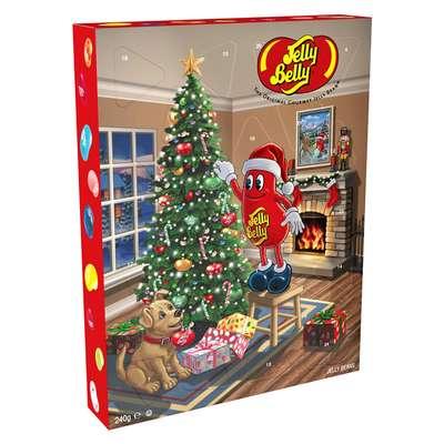Рождественский календарь ассорти Jelly Belly 240 гр, фото 1