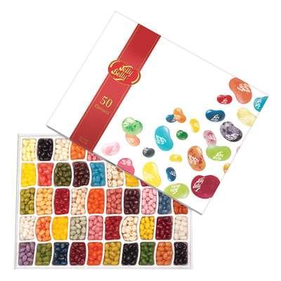 Ассорти 50 вкусов подарочная коробка Jelly Belly 600 гр, фото 2