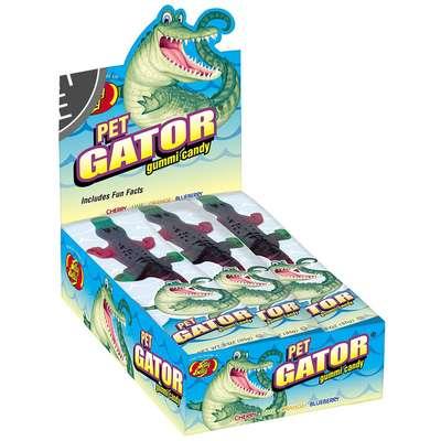 Жевательный мармелад Крокодил Jelly Belly Pet Gator 85 гр, фото 3