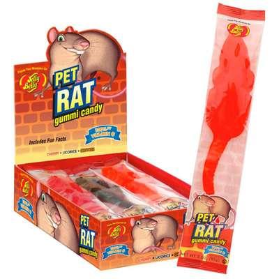 Жевательный мармелад Крыса Jelly Belly Pet Rat 85 гр, фото 6