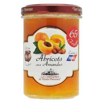 Джем северного Прованса из абрикоса с миндалем 65% фруктов 240 гр, фото 1