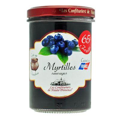 Джем северного Прованса из черники 65% фруктов 240 гр, фото 1