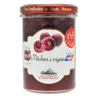 Джем северного Прованса из персика Вайн 65% фруктов 240 гр, фото 1