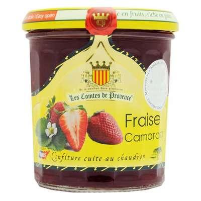 Джем из клубники Камароза 65% фруктов средиземноморский рецепт 340 гр, фото 1