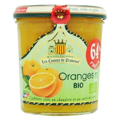 Джем из апельсина 64% фруктов Organic 350 гр, фото 1