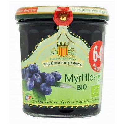 Джем из черники 64% фруктов Organic 350 гр, фото 1