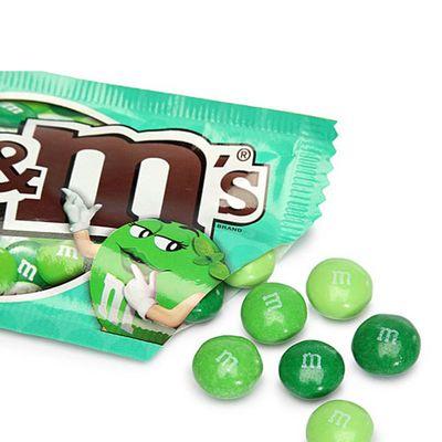 Драже темный шоколад и мята M&M's Dark Mint 42 гр, фото 3