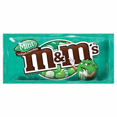 Драже темный шоколад и мята M&M's Dark Mint 42 гр, фото 1
