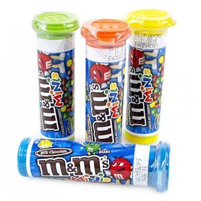 Конфеты драже в тубе M&M'sMilk Chocolate Minis Tubes 30 гр, фото 3