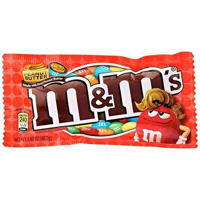 Драже с арахисовым маслом M&M's Peanut Butter 46 гр, фото 1