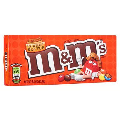 Драже шоколад и арахисовое масло в глазури M&M'S Peanut Butter 85 гр, фото 2