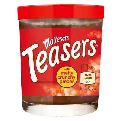 Шоколадная паста с кусочками печенья Maltesers Teasers Spread 200 гр, фото 1