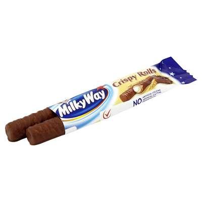 Вафельные трубочки Milky Way Crispy Rolls 25 гр, фото 2