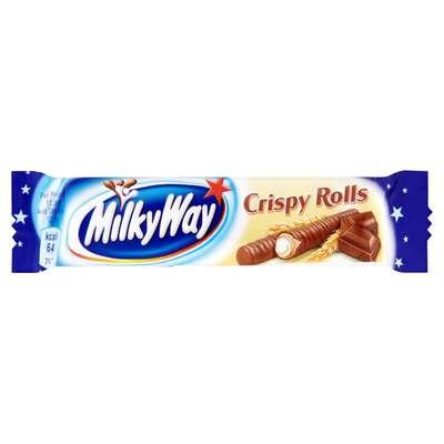 Вафельные трубочки Milky Way Crispy Rolls 25 гр, фото 1