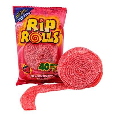 Жевательная резинка Rip Rolls Strawberry 40 гр, фото 2