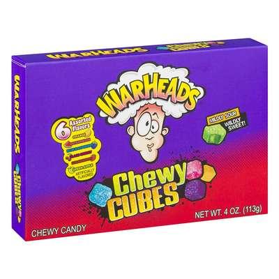 Warheads Chewy Кислые кубики 113,5g, фото 1