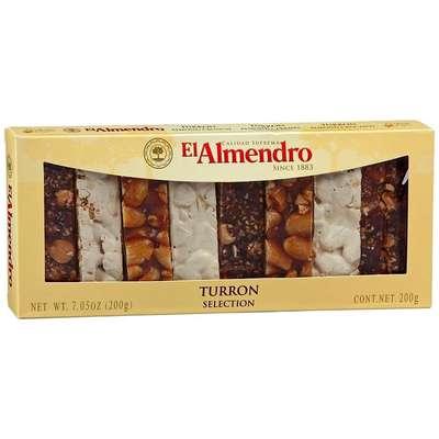 Ассорти из 3 видов туррона Turron Selection El Almendro 200 гр, фото 2