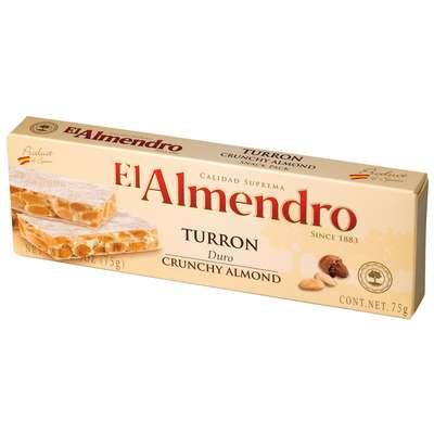 Хрустящий миндальный туррон Crunchy Turron El Almendro 75 гр, фото 2