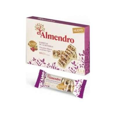 Ореховый батончик из миндаля и фундука с белым шоколадом и красными ягодами El Almendro 125 гр, фото 2