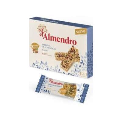 Ореховый батончик из миндаля и фундука с солью El Almendro 105 гр, фото 2