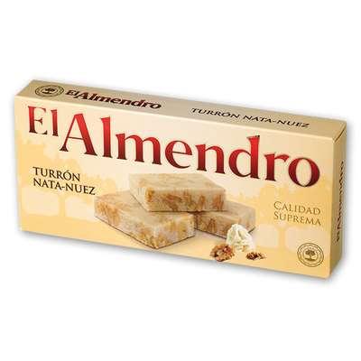 Сливочный туррон с грецким орехом El Almendro 200 гр, фото 1