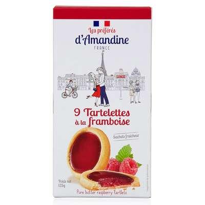 Тарталетки с малиной Les Preferes d'Amandine 125 гр, фото 1