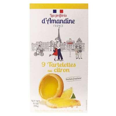 Тарталетки с лимоном Les Preferes d'Amandine 125 гр, фото 2