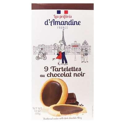 Тарталетки с темным шоколадом Les Preferes d'Amandine 125 гр, фото 2