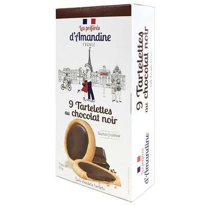 Тарталетки с темным шоколадом Les Preferes d'Amandine 125 гр, фото 1