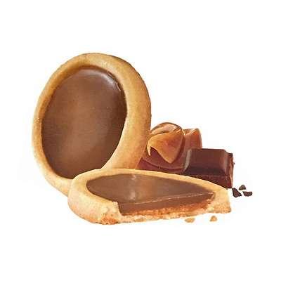 Тарталетки с соленой карамелью и молочным шоколадом Les Preferes d'Amandine 125 гр, фото 5