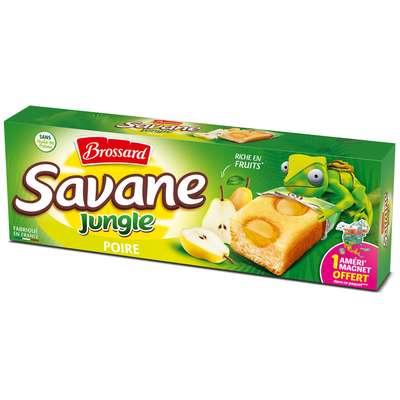 Кекс Savane Jungle с грушей 7x25 Brossard 175 гр, фото 1