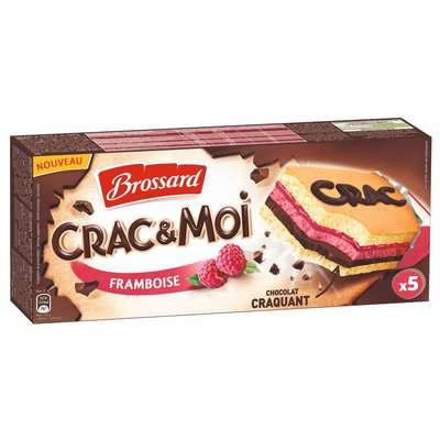 Кекс с малиной и шоколадом Crac&Moi Brossard 155 гр, фото 1