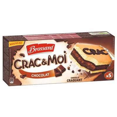 Кекс с начинкой из молочного шоколада Crac&Moi Brossard 155 гр, фото 1