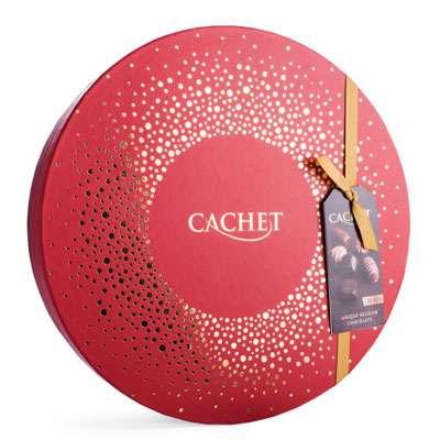 Премиальные шоколадные конфеты Round Box Large Cachet 400 гр, фото 2
