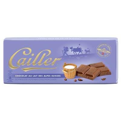 Молочный шоколад из альпийского молока Cailler 100 гр, фото 1