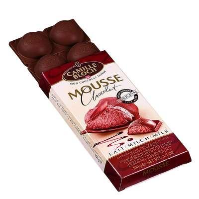 Молочный шоколад с начинкой шоколадный мусс Mousse Milk 100 гр, фото 2