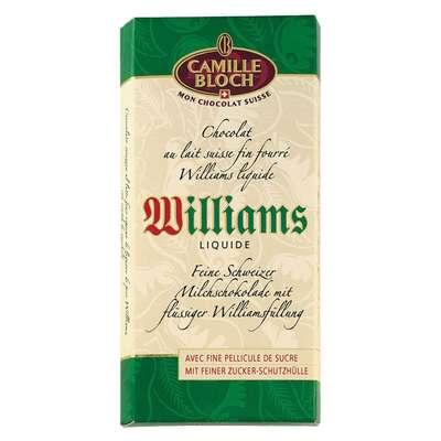 Молочный шоколад с грушевой водкой Williams Camille Bloch 100 гр, фото 2