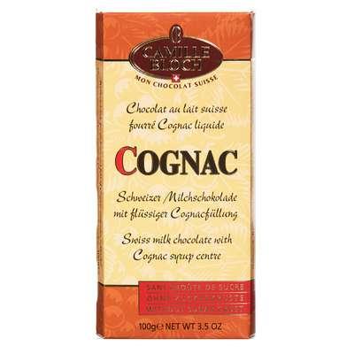Молочный шоколад с коньяком Camille Bloch Cognac 100 гр, фото 2