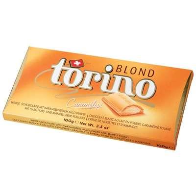 Белый шоколад с трюфельной начинкой Torino Blond 100 гр, фото 2